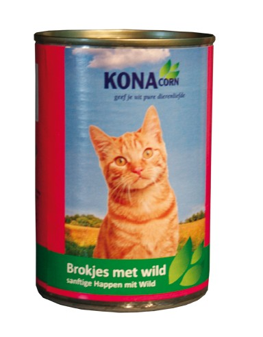 Konacorn brokjes met wild
