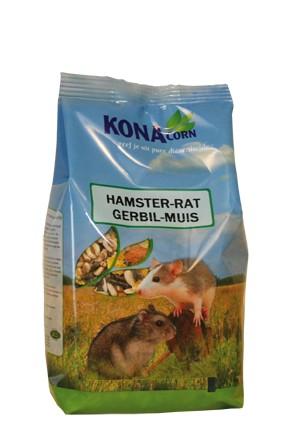 Konacorn voer voor hamsters, gerbils, ratten en muizen