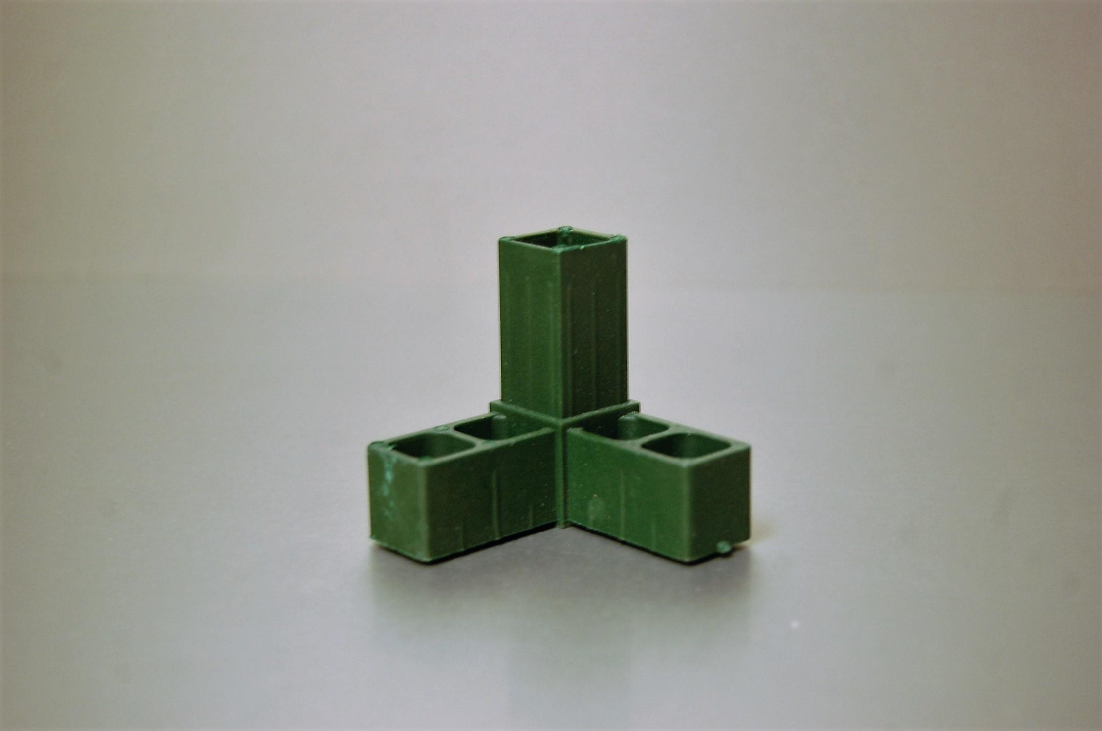 3-Punt Hoekje Groen