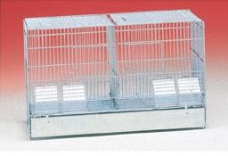 Broedkooi verzinkt & deelbaar (55 x 27 x 33 cm)