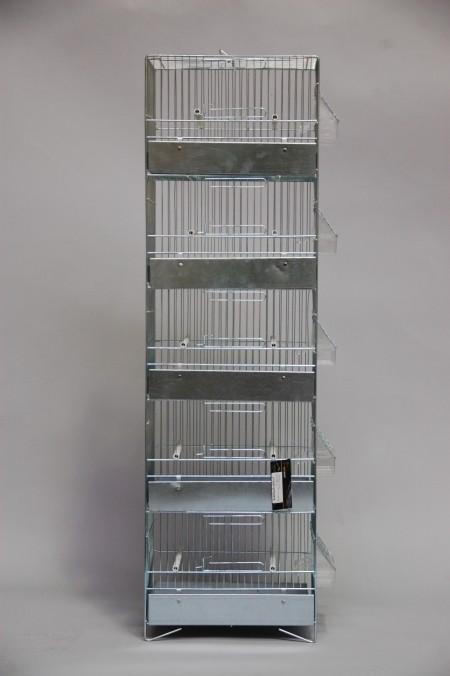 Geheel verzinkte toren vijf hoog compleet (31 x 20 x 104 cm)