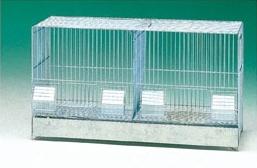 Broedkooi verzinkt (64 x 29 x 37 cm)