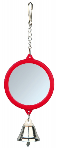 Spiegel met belletje