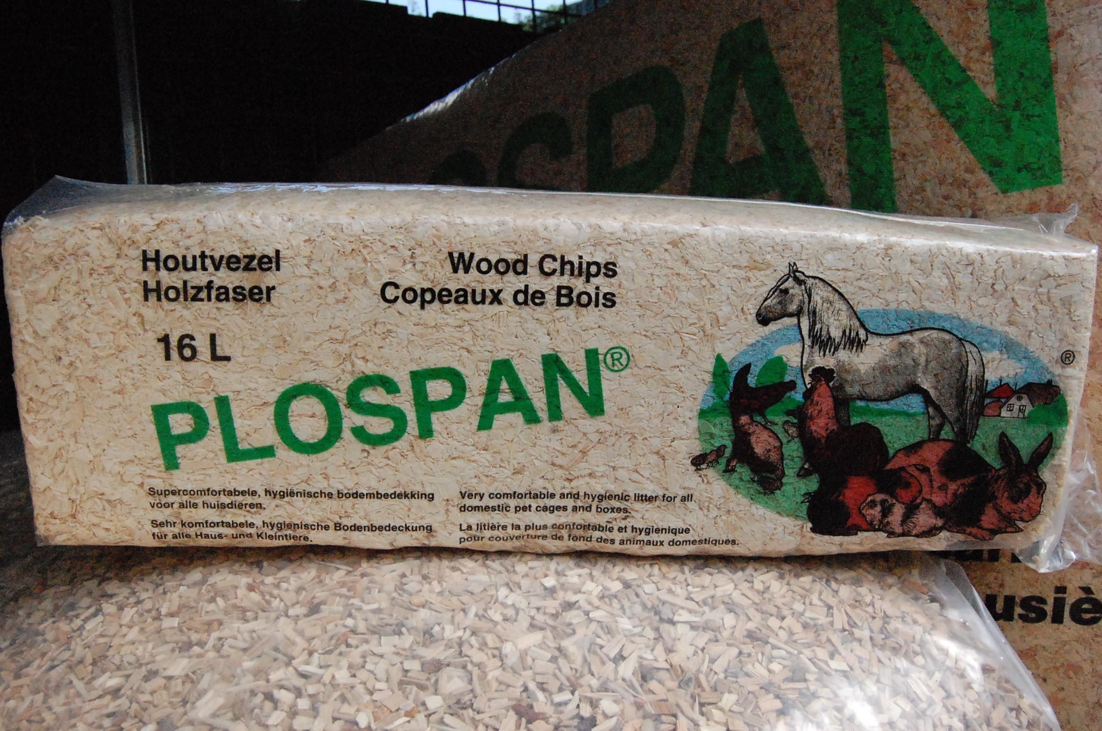 Plospan houtvezel 1 kg