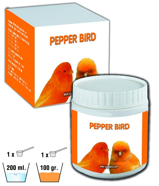 Easyyem pepper bird