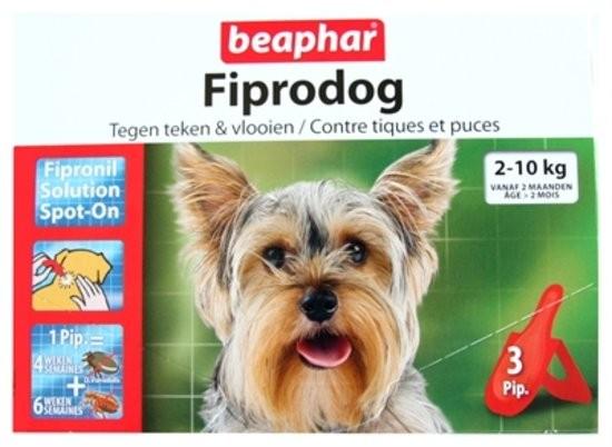Fiprodog tegen teken en vlooien