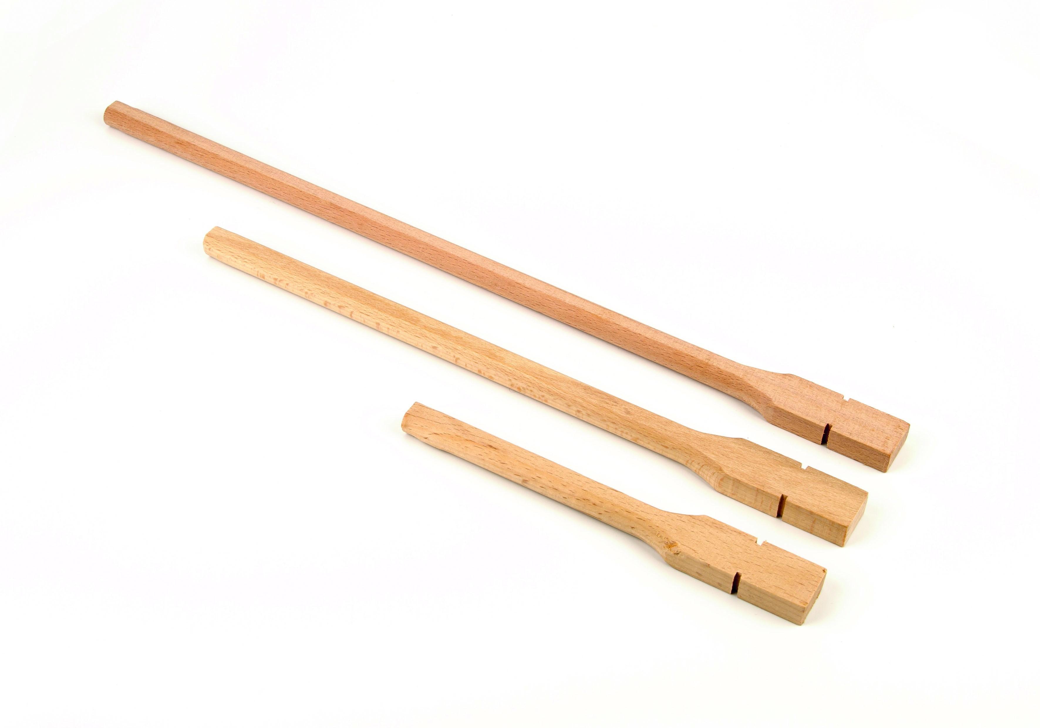 Draaizitstok hout 40 cm