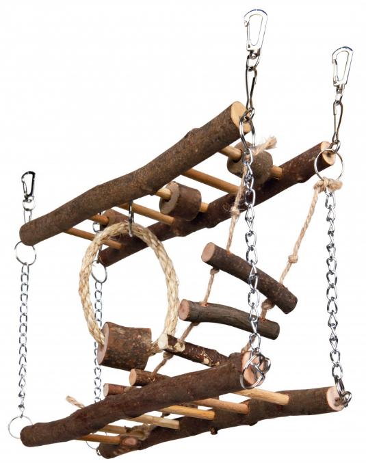 speeltje dubbele hangbrug