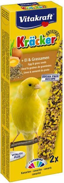 Vitakraft Kräcker ei & graszaden voor kanaries