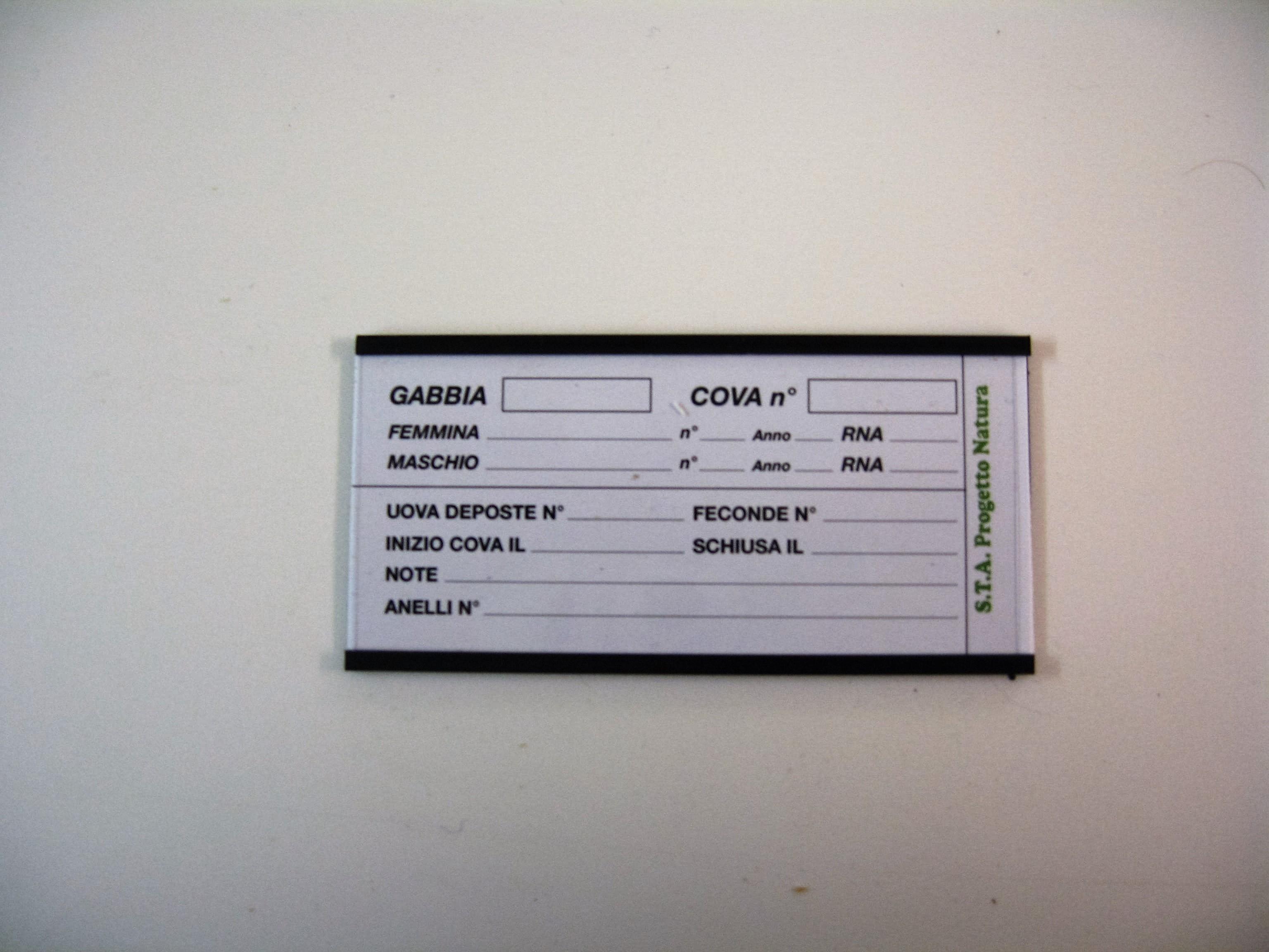 Magneet kweekkaarthouder