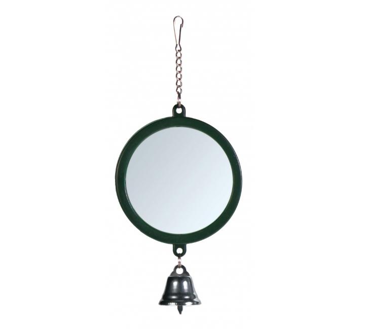 Spiegeltje met bel Ø 7 cm