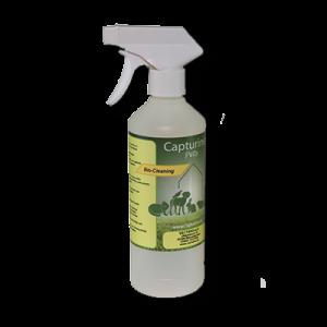 Capturine Pets-Bio-Cleaning lege sprayfles