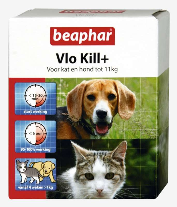 Beaphar Vlo Kill+ anti-vlooien
