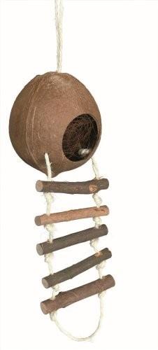 vogelspeeltje kokosnoothuisje