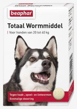 Beaphar Wormmiddel voor honden van 20 - 40 kg
