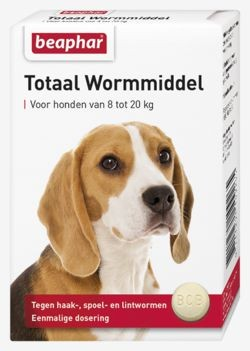 Beaphar Wormmiddel voor honden van 8 - 20 kg