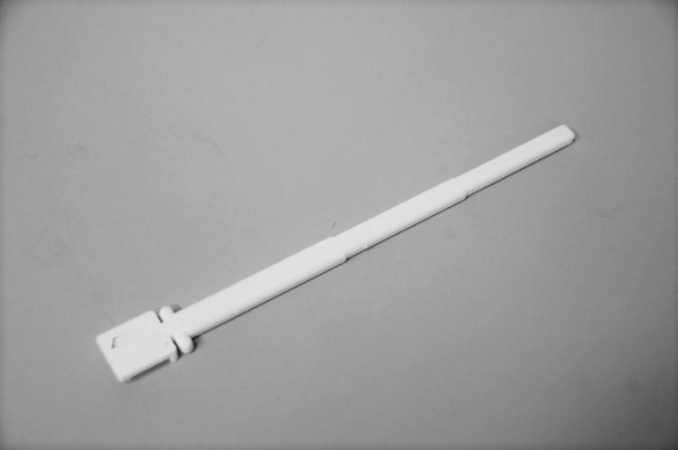 Draaizitstok wit 22 cm