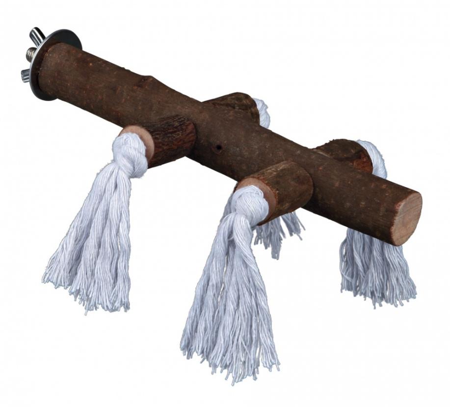 Zitstok met touw