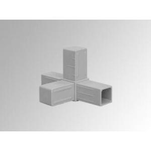 4-Punt Hoekje Grijs (20 x 20 x 1,5 mm)