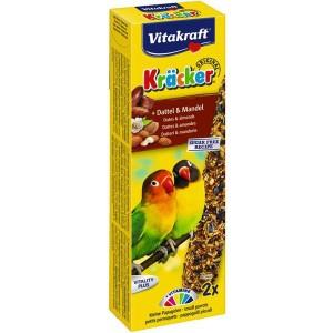Vitakraft Kräcker dadels & amandelen voor kleine papegaaien