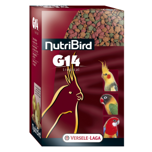Nutribird G14 Tropical voor grote parkieten