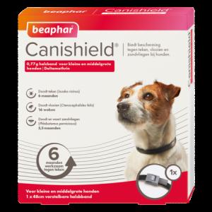 Beaphar Canishield halsband hond klein / middelgroot
