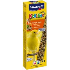 Vitakraft Kräcker honing & sesam voor kanaries