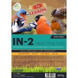 Legazin IN-2 samengestelde voeding voor insectenetende vogels
