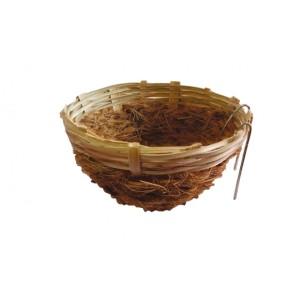 Cocos nest met Bamboe met haak