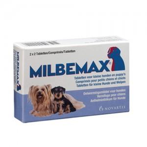 Milbemax Ontwormingskuur voor kleine honden en puppy's