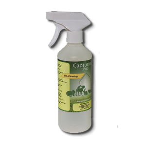 Capturine Pets-Bio-Cleaning lege sprayfles