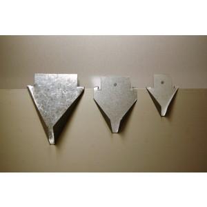 Stokhouder Aluminium Klein