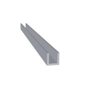 Aluminium U-Profiel Brut extra (10 x 10 x 10 x 1,5 mm)