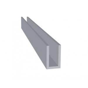 Aluminium U-Profiel Brut extra (20 x 12 x 20 x 2,0 mm)
