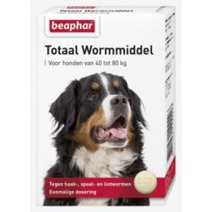 Beaphar Wormmiddel voor honden van 40 - 80 kg