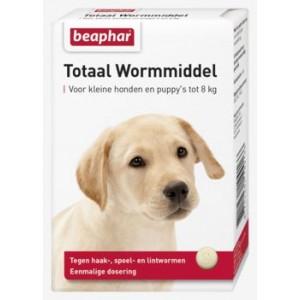 Beaphar Wormmiddel voor honden tot 8 kg en puppy's