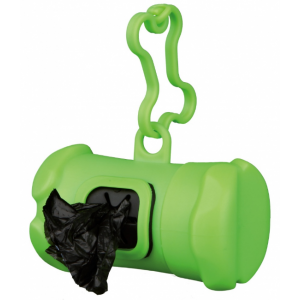 Groene hondenpoepzakjeshouder